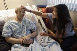 Mixed-race patients struggle to find marrow donors (AP)