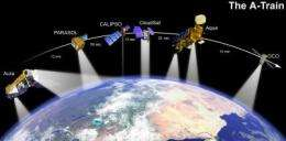 NASA's A-Train of satellites 'on track' with hurricane research