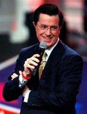 NASA to announce module name on `Colbert Report' (AP)