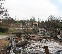 NIST study offers first detailed look at the progress of a wildland-urban fire