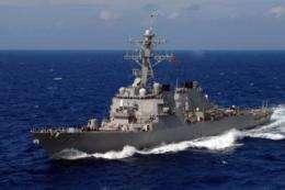 ONR demonstrates revolutionary new counter-mine technology for ships