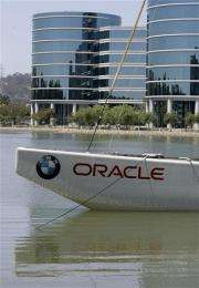 Oracle tops forecasts despite sales, profit dip (AP)