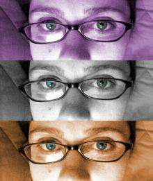 Our brain looks at eyes first to identify a face