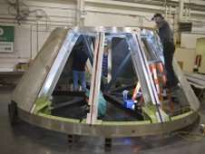 Pieces Coming Together for First Test Launch of NASA's New Spacecraft