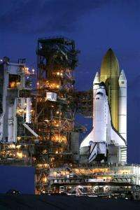 Rescue shuttle moved to launch pad just in case (AP)