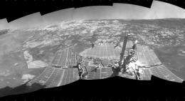Rover Sees Variable Environmental History at Martian Crater