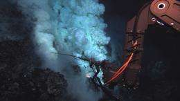 ROV Jason images the discovery of the deepest explosive eruption on the sea floor (w/ Video)