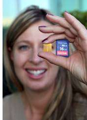 SanDisk Ships Flash Memory Cards With 64 Gigabit X4 NAND Technology