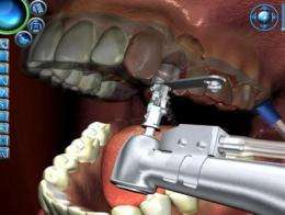 Simulation helps students learn dental implant procedures