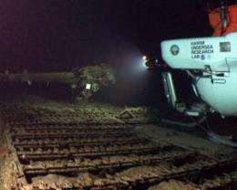 Submersibles discover top-secret Japanese submarines