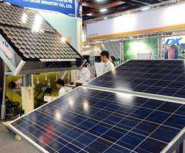 The clean-energy industry is expected to produce some 100 billion Taiwan dollars in revenue within two years