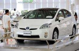 "Third-generation ""Prius"" of Japanese auto giant Toyota Motor"