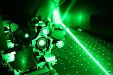 Tiny lasers plug the 'green gap'
