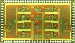Two-Antenna Quad-Beam 11-15 GHz Phased Array RFIC Targeted at Satellite Systems and Advanced Radars