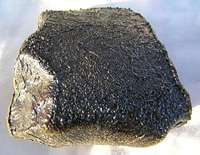 Unusual meteorite found by time-lapse camera observatory
