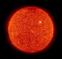 Warning: Sunspot cycle beginning to rise (AP)