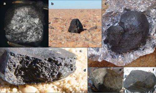 Meteorites from 2008 TC3 still giving up their secrets