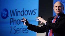 Microsoft's fiscal 1Q earnings hit analyst target (AP)