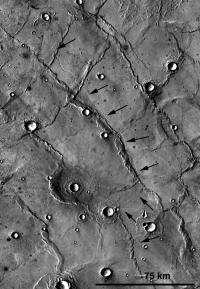 New mystery on Mars' forgotten plains