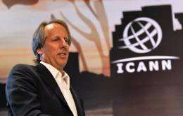 Rod Beckstrom, president of ICANN since July 2009, said he will step down when his term ends on July 1, 2012