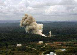 The European Space Agency has planned a series of five Vega launches from the space center in French Guiana