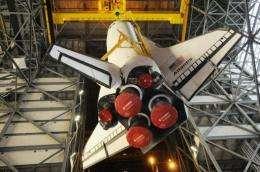 US space shuttle Atlantis