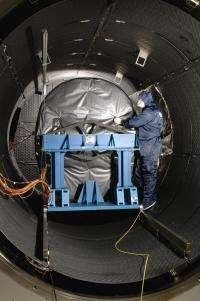 Webb Telescope's MIRI flight instrument completes cryogenic testing in the UK