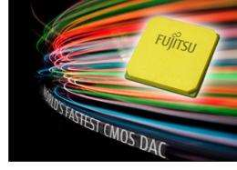 World's fastest CMOS DAC for next-neneration optical transport systems launched