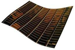 Efficiency record for flexible CdTe solar cell due to novel polyimide film