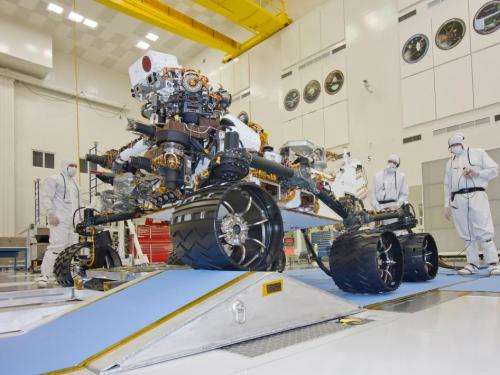 NASA's curiosity continues mobility checkouts