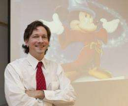 Roots of consumerism may lie in disney cartoons