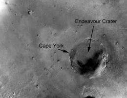 Mars rover Opportunity on verge of new discovery