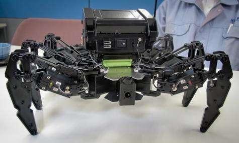 Kondo Robot releases a hexapod robot kit (w/ video)