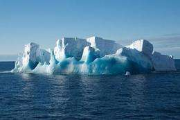 Antarctic icebergs help the ocean take up carbon dioxide