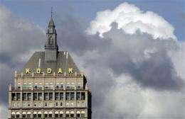 Can Kodak rescue itself via a patent bonanza? (AP)