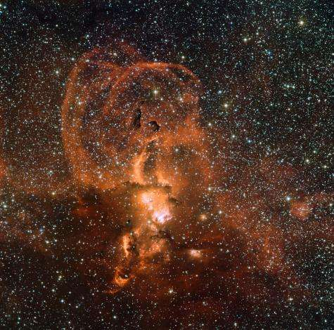 Celestial fireworks from dying stars