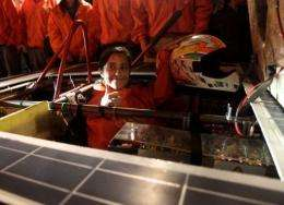 Chile's Intikalpa sped to success in the Atacama Solar Challenge