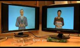 Chatty robots go viral on YouTube