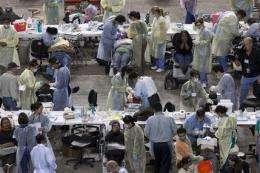Dental care in big demand at free LA health clinic (AP)