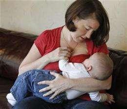 Do hospitals' freebies undermine breast-feeding? (AP)