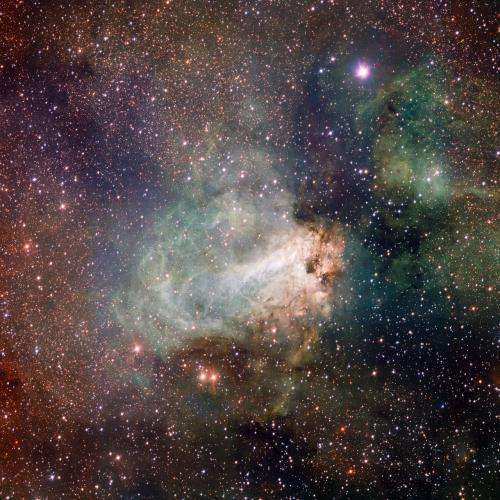 First Images from the VLT Survey Telescope