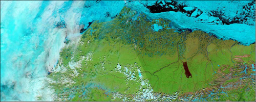 Largest recorded tundra fire yields scientific surprises