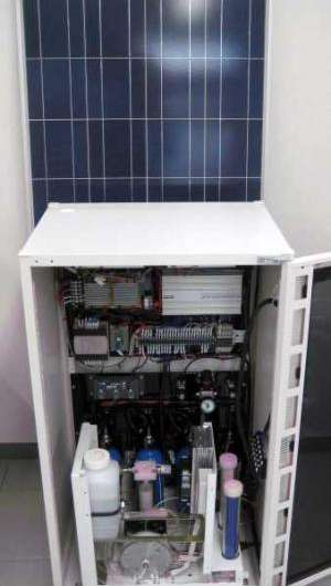 FC-R&D releases natural-energy power system