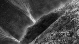 Frozen comet had a watery past, scientists find