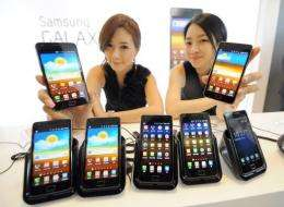 Galaxy S II smartphones were released locally on April 29 and in some European countries in May