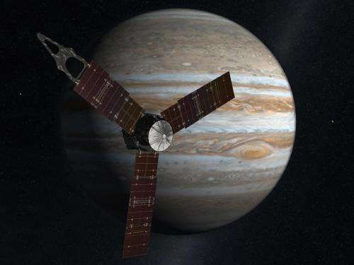 Gas giant spacecraft all gassed up