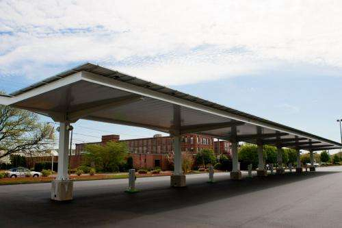 Plainville, Conn. gets a solar carport