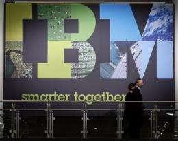 IBM bumps guidance again, but revenue falls short (AP)