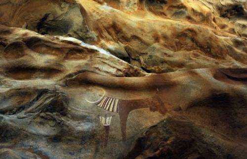 In a region ravaged by two decades of civil unrest, a series of ancient cave paintings are at risk of destruction