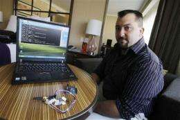 Insulin pump maker identified after hacking talk (AP)